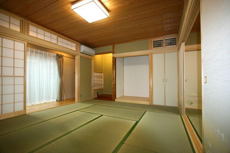 施工事例|安水建設|愛知県三河エリアの木造注文住宅・リフォーム座がもてなす二世帯住宅