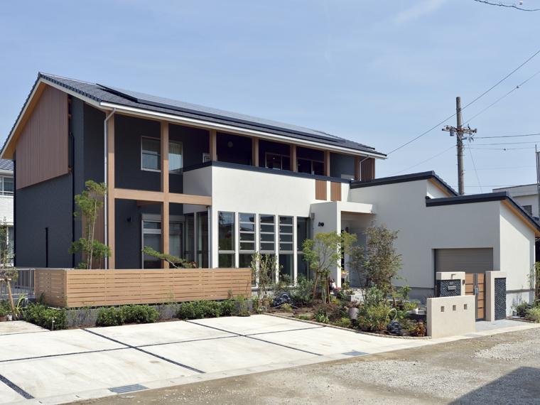 安水建設|愛知県三河エリアの木造注文住宅・リフォームモダンな和美をみる家