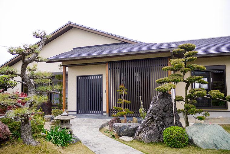 三河の家|安水建設|愛知県三河エリアの木造注文住宅・リフォームモダンの中に和漂う家