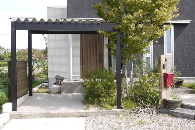 施工事例|安水建設|愛知県三河エリアの木造注文住宅・リフォームT様邸外構工事
