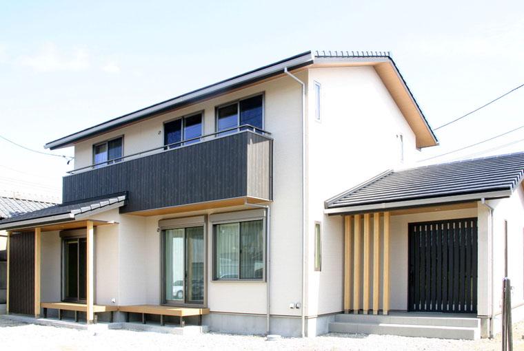 施工事例|安水建設|愛知県三河エリアの木造注文住宅・リフォーム和の趣を宿すモダンな家