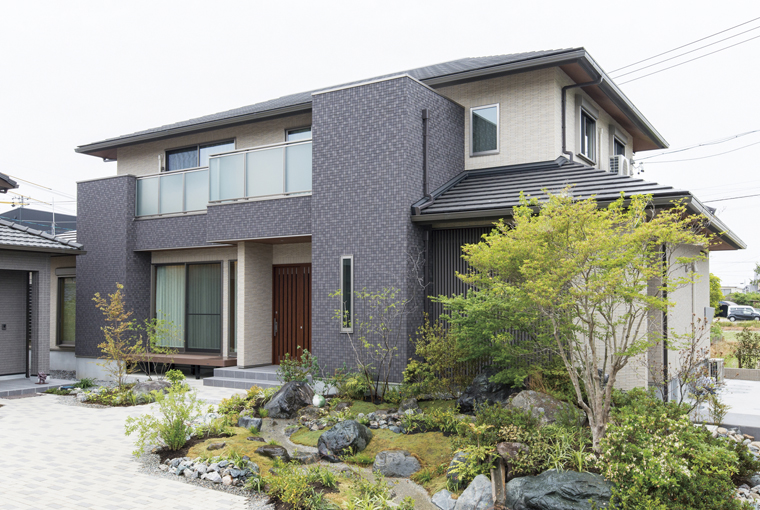 三河の家|安水建設|愛知県三河エリアの木造注文住宅・リフォーム華房の家~はなやかな暮らし、はなやかな住まい~