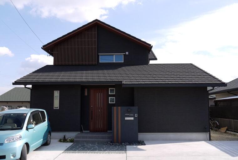 施工事例|安水建設|愛知県三河エリアの木造注文住宅・リフォーム二世帯で暮らすモダンインテリアの家