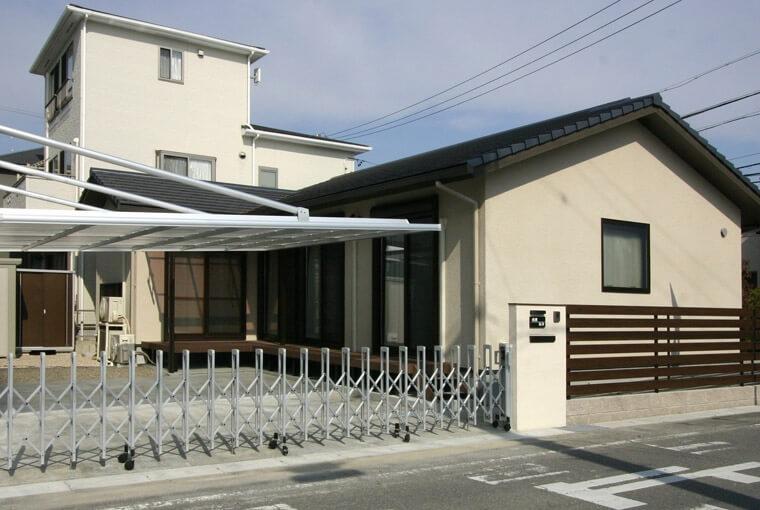 施工事例|安水建設|愛知県三河エリアの木造注文住宅・リフォーム家族が繋がる木の平屋建て