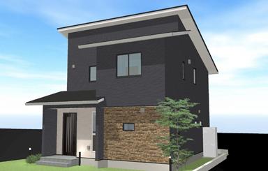 施工事例|安水建設|愛知県三河エリアの木造注文住宅・リフォームクールモダンなZEH住宅(建築中)