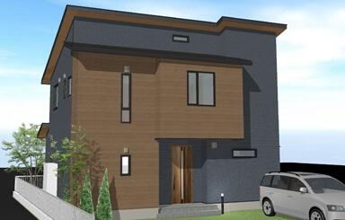 施工事例|安水建設|愛知県三河エリアの木造注文住宅・リフォーム色や素材を楽しむハンサムな木の家(建築中)
