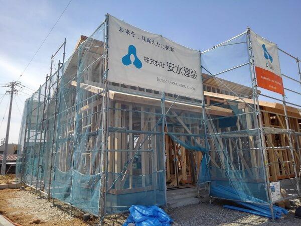 |安水建設|愛知県三河エリアの木造注文住宅・リフォーム2棟同時!構造見学会!!