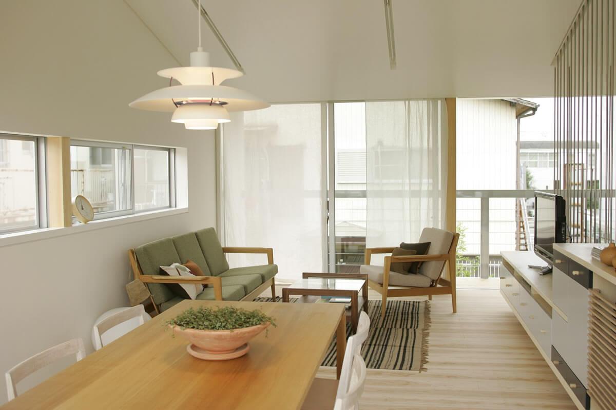 風をよびこむ窓は|io(イーオ)|家族が心地よく暮らせる私サイズの家|安水建設