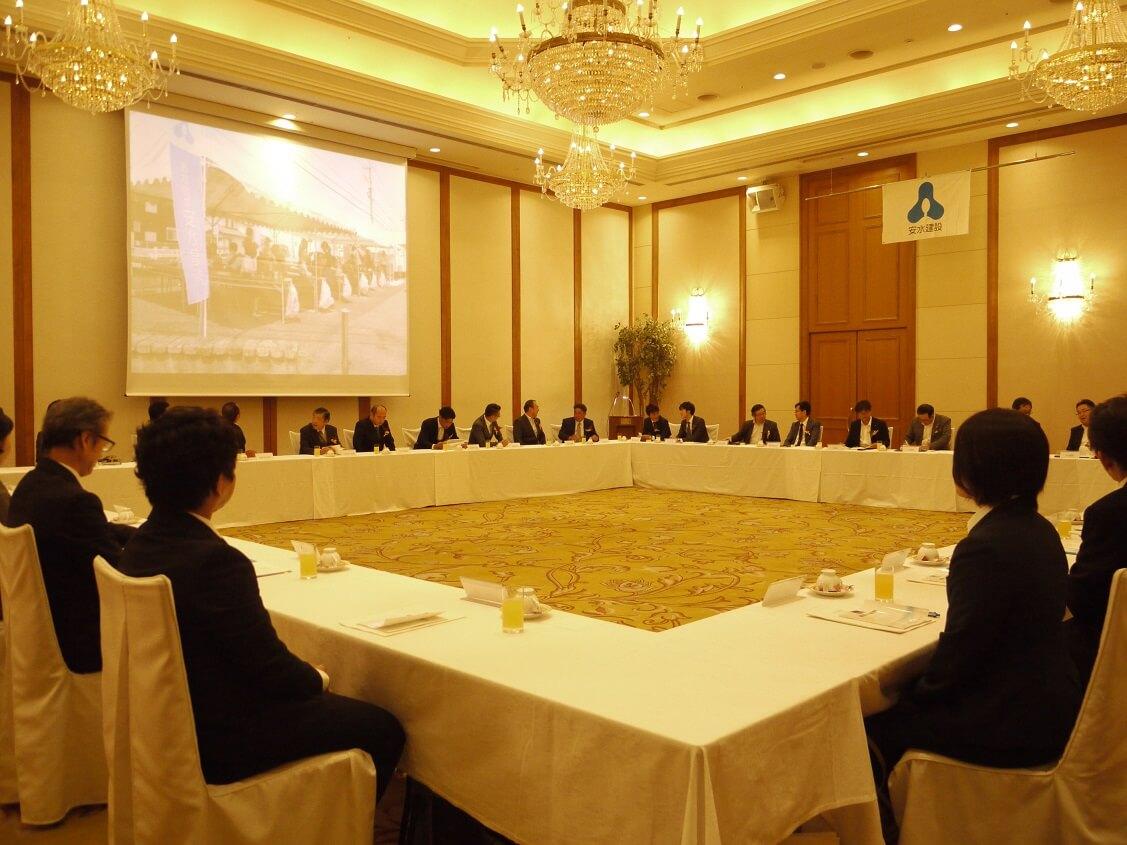 日記|安水建設|愛知県三河エリアの木造注文住宅・リフォーム経営計画発表会を開催しました!