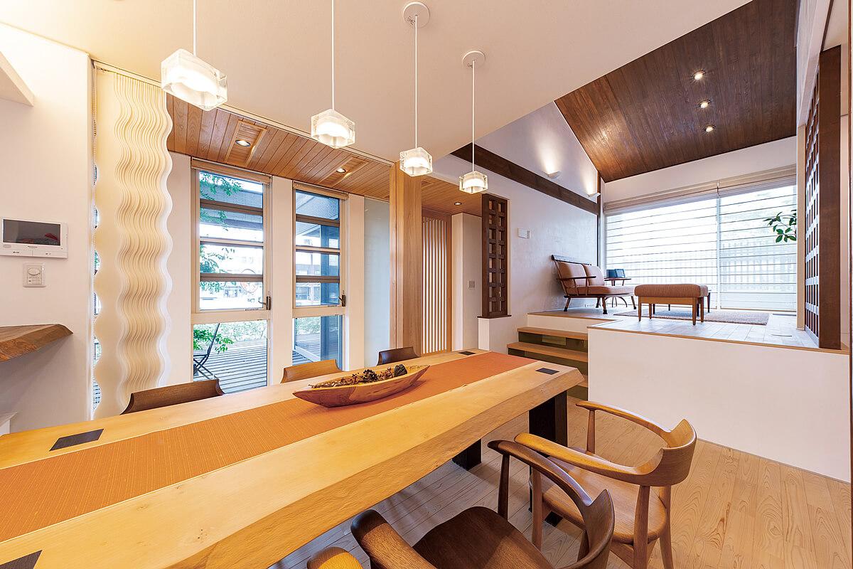 三河の家 木の香り漂う贅沢なくつろぎの注文住宅 安水建設
