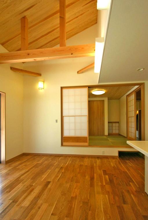 中廊下の和邸|三河の家|木の香り漂う贅沢なくつろぎの注文住宅|安水建設