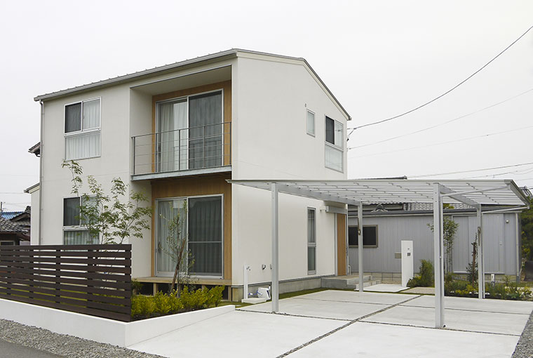 施工事例|安水建設|愛知県安城市を中心に三河エリアの木造注文住宅・リフォーム自然素材のぬくもりが心地いい家