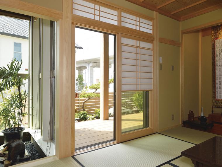 モダンな和美をみる家|三河の家|木の香り漂う贅沢なくつろぎの注文住宅|安水建設