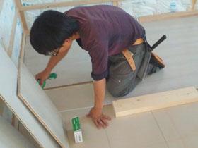 非公開: 凪の家(建築中) 木工事