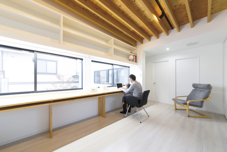 凪の家|三河の家|木の香り漂う贅沢なくつろぎの注文住宅|安水建設