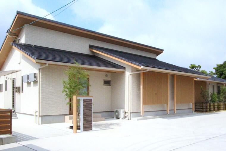 施工事例|安水建設|愛知県安城市を中心に三河エリアの木造注文住宅・リフォーム木に包まれて暮らす二世帯平屋建て