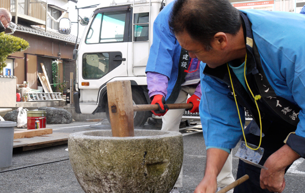 |安水建設|愛知県三河エリアの木造注文住宅・リフォーム『もちつき大会12/23』開催します!