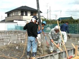 非公開: 和匠の家(建築中) 基礎工事