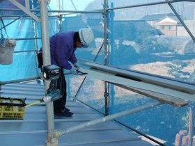 非公開: 自然素材のぬくもりが心地いい家(建築中) 屋根工事