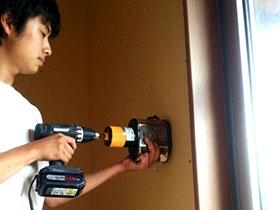 非公開: ほどよくつながったなごみの家 ~モダン二世帯住宅~(建築中) 電気設備工事