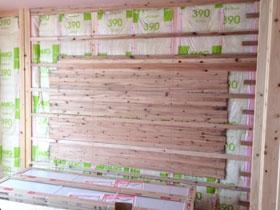 非公開: 木と、光と、風と暮らす家(建築中) 木工事