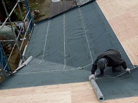 非公開: モダンの中に和漂う家(建築中) 屋根工事