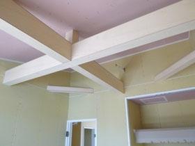 非公開: 真っ白なスタイリッシュハウス(建築中) 木工事