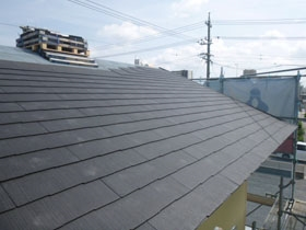 非公開: バイクガレージのある木の家(建築中) 屋根工事