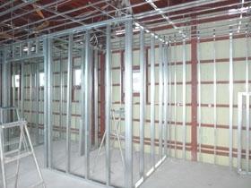 非公開: 店舗兼用住宅(建築中) LGS工事
