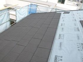 非公開: HUCKモデルハウス(建築中) 屋根工事