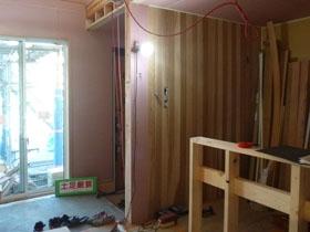 非公開: HUCKモデルハウス(建築中) 木工事