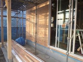 非公開: DIYを楽しむ家HUCK(建築中) 外壁工事