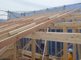 非公開: DIYを楽しむ家HUCK(建築中) 上棟の様子