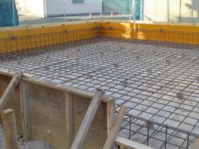 非公開: 暮らしを愉しむ自然素材の平屋建て(建築中) 基礎工事