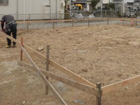 非公開: 家族が繋がる木の平屋建て(只今建築中) 基礎工事