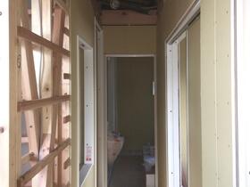 非公開: 只今建築中(無垢と暮らすナチュラルシックな木の家) 木工事