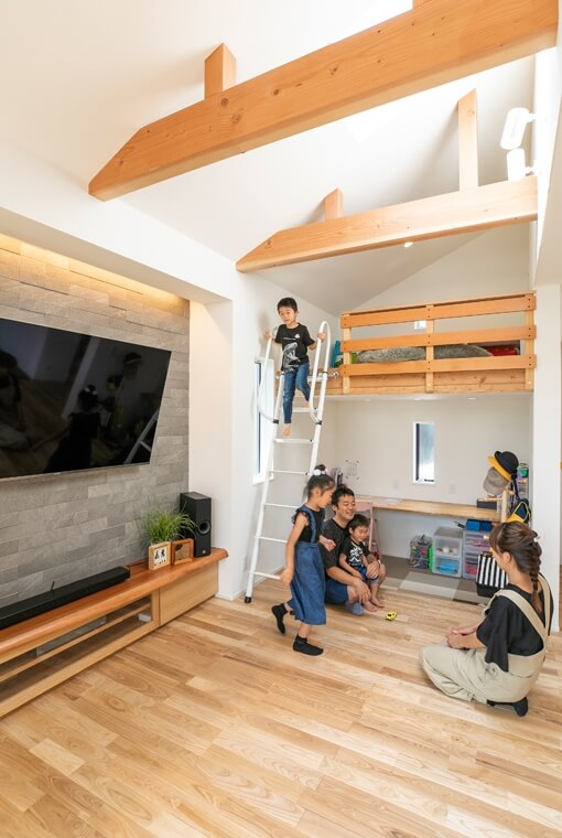 展望デッキのある和邸|三河の家|木の香り漂う贅沢なくつろぎの注文住宅|安水建設