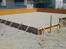 非公開: 只今建築中(フラットハウスBERET(ベレー)) 基礎工事