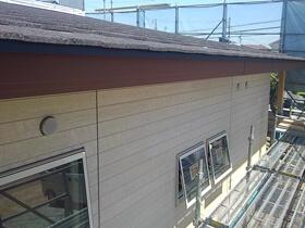非公開: 只今建築中(フラットハウスBERET(ベレー)) 外壁工事