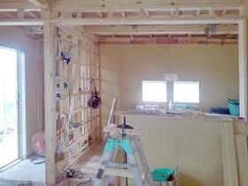 非公開: 只今建築中(フラットハウスBERET(ベレー)) 木工事
