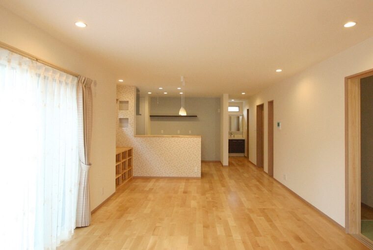 施工事例|安水建設|愛知県安城市を中心に三河エリアの木造注文住宅・リフォーム光と風と家族と暮らす木の家