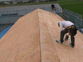 3世代で暮らす本格和風住宅 屋根工事