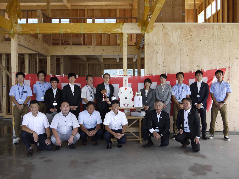日記|安水建設|愛知県安城市を中心に三河エリアの木造注文住宅・リフォーム上棟式