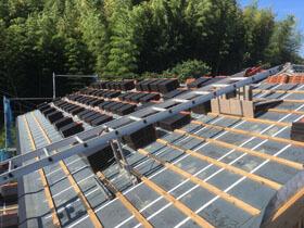 白山の家 屋根工事