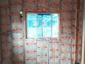白山の家 断熱シート工事