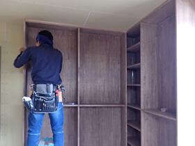 温故知新のスタンプショップ 家具造作工事