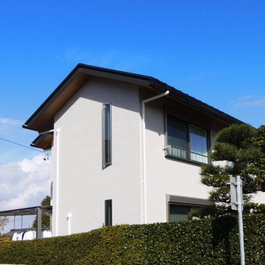 日記|安水建設|愛知県安城市を中心に三河エリアの木造注文住宅・リフォーム秋空に映える(ばえる)お家