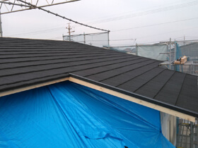 マイ・カリフォルニアスタイルの家 屋根工事