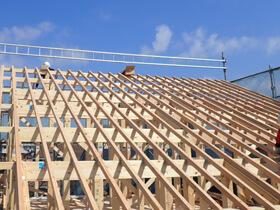 ナチュラルカントリーの家 屋根工事
