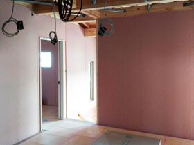 マイ・カリフォルニアスタイルの家 内装工事